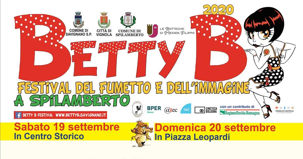 Il programma di Betty B 2020 a Spilamberto