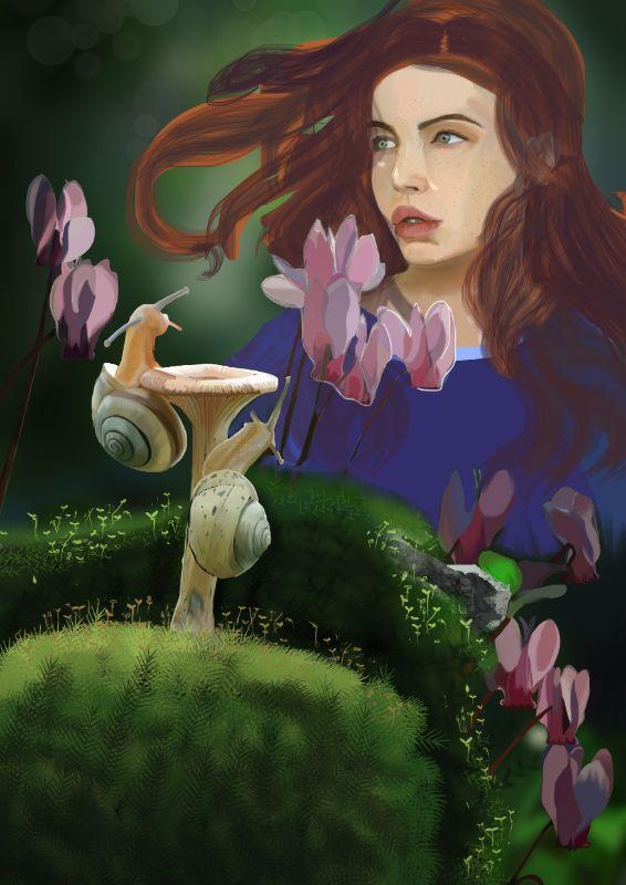 La poesia Illustrata, galleria opere