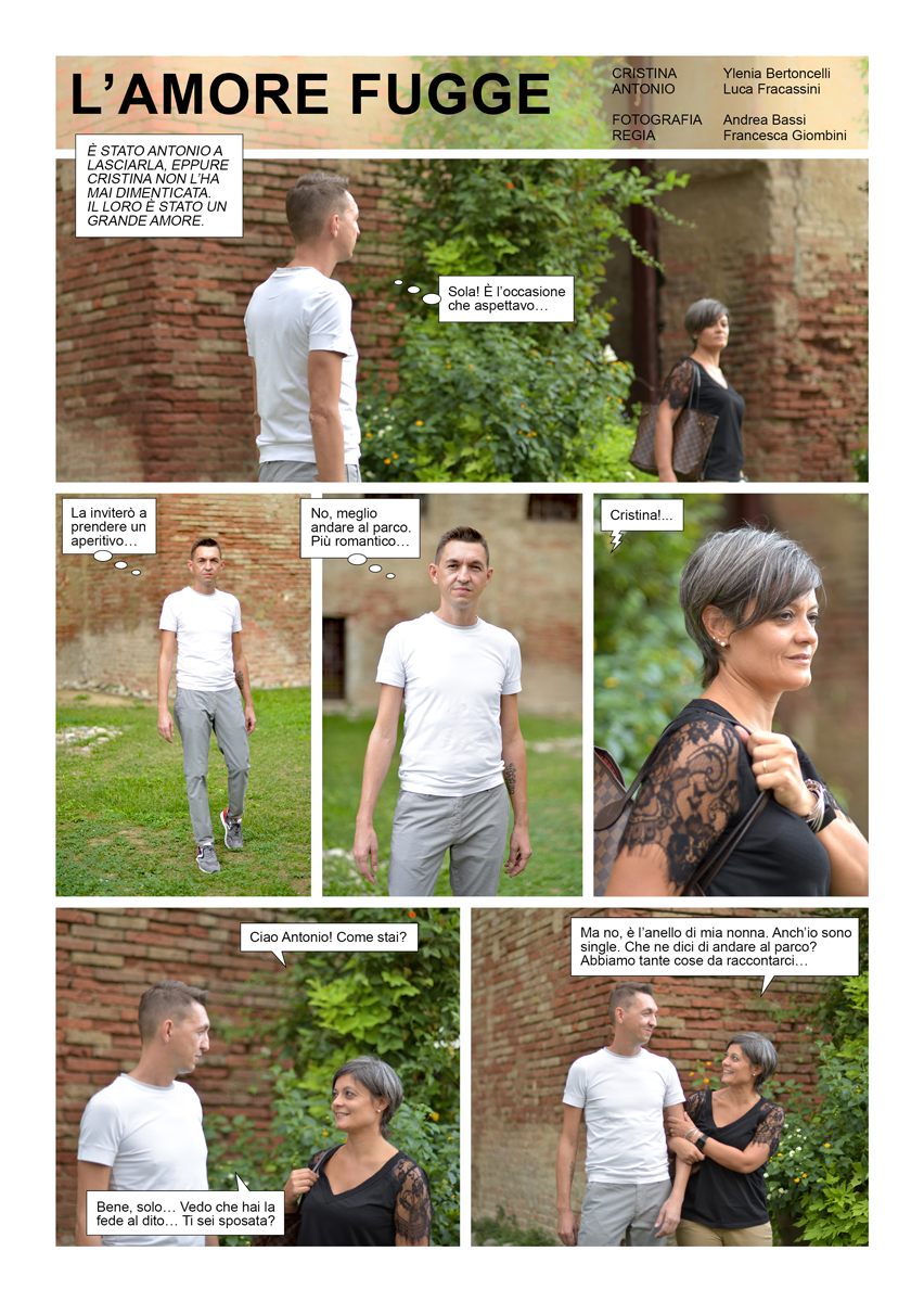 L'amore Fugge, il fotoromanzo di BettyB